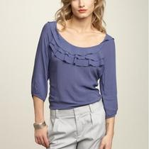Gap  Ruffle Top - Nwt - Size L Photo