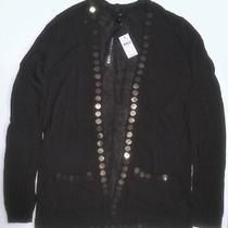 Gap Sequined Embellished Cardigan Sweater Size Xs  New Photo