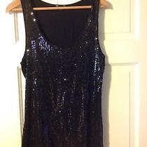 Gap Sequined Tank (Size Large) Photo