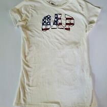 Gap Shirt Size Xs/ Flag Detail Great for Fourth of July/america Photo