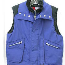 Gap Silver Ice  Zip Front Puffer Vest  Boys Large Excellent Warm Photo