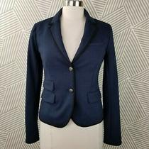 Gap Size 2 the Academy Blazer Classic Navy Uniform Business Professional Jacket Photo