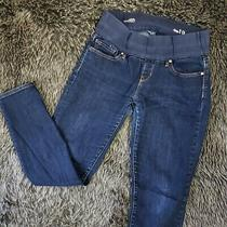 Gap Size 29 / 8 Short Always Skinny Maternity Jeans Dark Wash Womens Photo