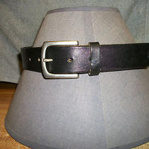Gap - Size M (Waist 28)  Genuine Leather Belt (Black) Photo