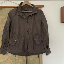 Gap Smart Ladies Light Brown /fawn Rain Coat Size Small 8/10 Hood Waterproof. Photo