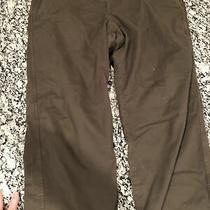 Gap Straight Fit Mens Chino Flannel Lined Casual Pants Size 38 X 32 Photo