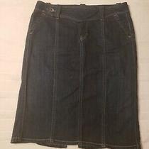 Gap Stretch Denim Skirt Size 10 Photo