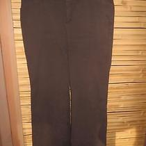 Gap Stretch Modern Fit Flare Pants Size 10 Long Brown Photo