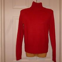 Gap Stretch Red Sweater Sz Medium Free Ship Photo