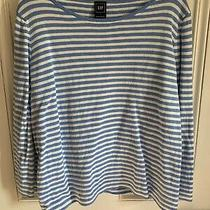 Gap Stripy Sweatshirt Size L Vgc Photo