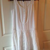 Gap Summer Dress  Size Xs  Little White Dress Photo