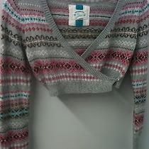 Gap Sweater Shrug S/m Acrylic/angora Blend Soft Nice Photo