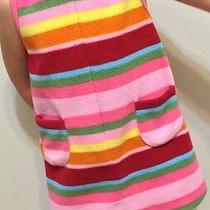 Gap Sweater Sweater Rainbow Stripes Pullover Sleeveless Fleece Vest Photo