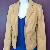 Gap Tan Blazer Nice Dress Cover  Fall Winter Size 2 Photo