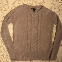 Gap Tan Pull-Over Cotton Blend Knit Sweater - Girls Size 8 - Perfect Photo