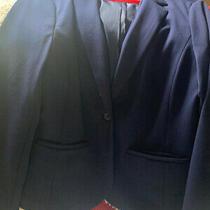 Gap the Academy Blazer in Navy Blue Size 12.  Photo