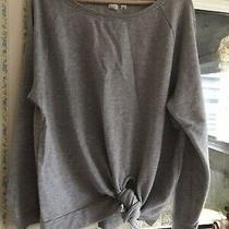 Gap Tie Front Sweatshirt M 12 14 Photo