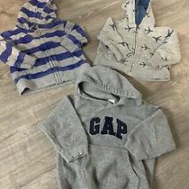 Gap Toddler Boys 18-24 Months Lot of 3 Sweaters and Jackets Photo