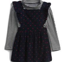 Gap Toddler Girls Corduroy Dress Set Size 3 Photo