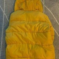 Gap Unisex Girls and Boys Winter Puffer Jacket Yellow Size M Photo
