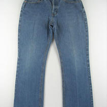 Gap Usa Worn Boot Cut 100% Cotton Denim Jeans Womens Pant Sz 6 8 a 8a Kidr Photo