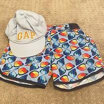 Gap Vintage Cap and Swim Shorts Bundle 18-24m Photo