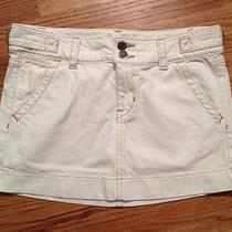 Gap White Mini Skirt Womens Size 1 Photo
