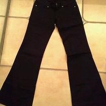 Gap Wide Leg Flare Black Jeans Size 2 Gently Worn Photo