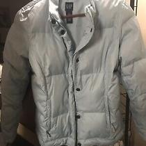 Gap Winter Jacket Size M Light Blue New Condition Photo