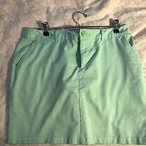 Gap Womems Mint Green Skirt Size 8 Photo