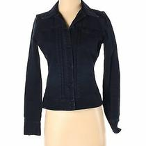 Gap Women Black Denim Jacket Xs Photo
