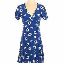 Gap Women Blue Casual Dress 4 Photo