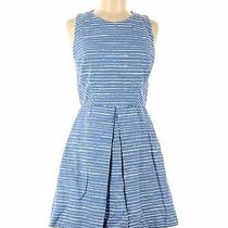 Gap Women Blue Casual Dress 6 Photo