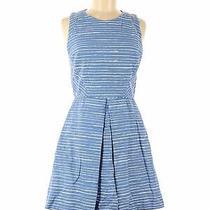 Gap Women Blue Casual Dress 6 Photo