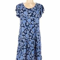 Gap Women Blue Casual Dress M Photo