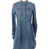 Gap Women Blue Casual Dress Xs Photo