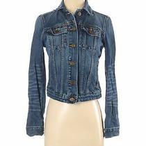 Gap Women Blue Denim Jacket Xs Photo