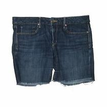 Gap Women Blue Denim Shorts 30w Photo