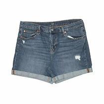 Gap Women Blue Denim Shorts 31w Photo