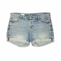 Gap Women Blue Denim Shorts 32w Photo
