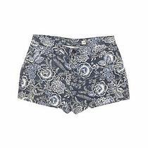 Gap Women Blue Khaki Shorts 2 Photo