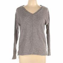 Gap Women Gray Pullover Sweater M Photo