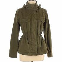 Gap Women Green Denim Jacket S Photo