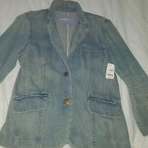 Gap Women Jean Jacket Size 4 Photo