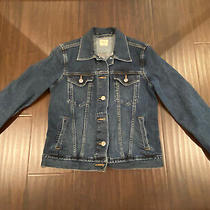 Gap Womens 1969 Navy Denim Jacket Xs Photo