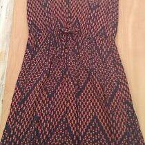 Gap Women's Ankle Length Red/blue Sleeveless Dress Size Xs  Photo