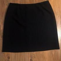 Gap Women's  Black Skirt Size 12 Polyester Rayon Photo