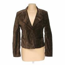Gap Women's Blazer Size 8  Brown  Cotton Spandex  Fair Condition Photo