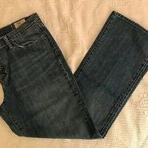 Gap Womens Boot Cut Jeans - Distressed Medium Wash - Size 14 Photo