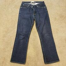 Gap Women's Boot Cut Stretch Jeans Size 12 Regular Dark Blue Photo